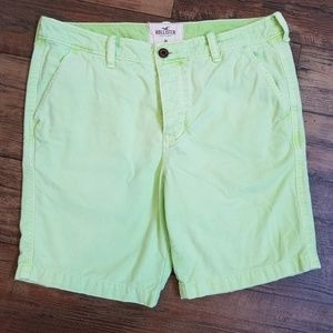 Hollister Shorts - Hollister *Sz 36* Mens Neon Green Shorts